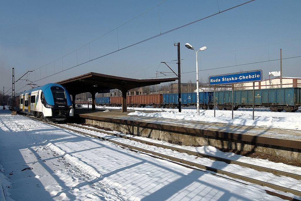 Dworzec kolejowy Ruda Chebzie