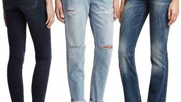 Większość kobiet ma w swojej szafie chociaż jedną parę dżinsów. Te kultowe spodnie towarzyszą nam podczas wielu, mniej lub bardziej formalnych sytuacji. Jak zwykle szeroki wybór dżinsów znajdziemy także w H&M. Marka oprócz klasycznych rurek i spodni z prostą nogawką proponuje modne boyfriedny i wracające do łask dzwony. Nadal na czasie są wszelkie przetarcia i dziury, a dla bardziej wymagających szwedzka sieciówka przygotowała spodnie modelujące sylwetkę.