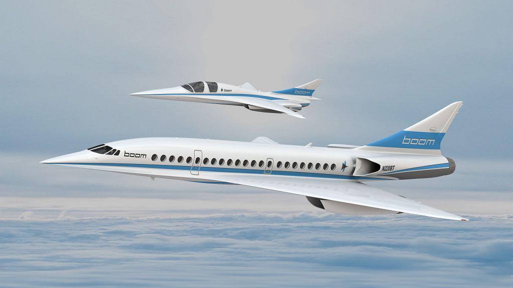 Odrzutowce ponaddźwiękowe Boom Supersonic: XB-1 oraz Boom