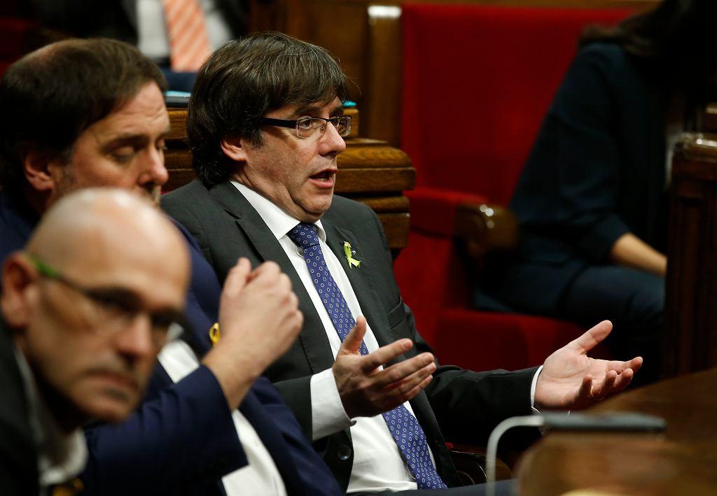 Były kataloński premier Carles Puigdemont