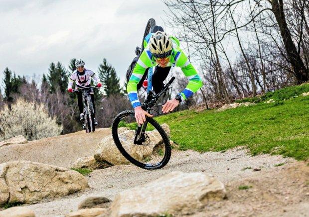 Rowery górskie: trening z mistrzynią świata