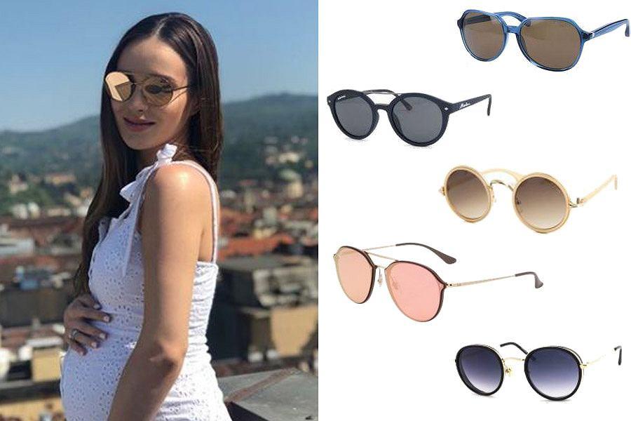 Kolaż, okulary przeciwsłoneczne/Materiały partnera