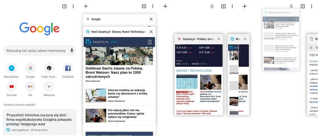 Chrome Canary - Google odświeżył design przeglądarki