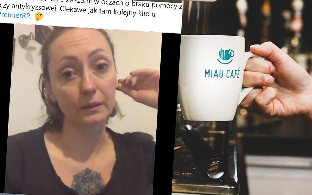 Właścicielka Miau Cafe o braku pomocy