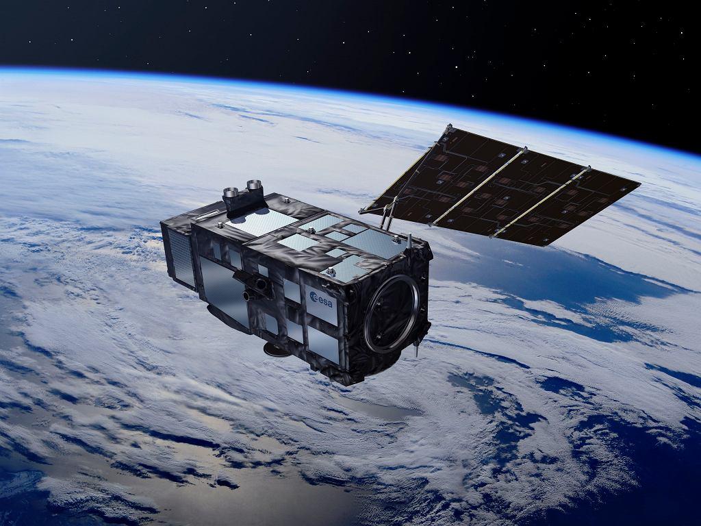 Satelita Sentinel 3A