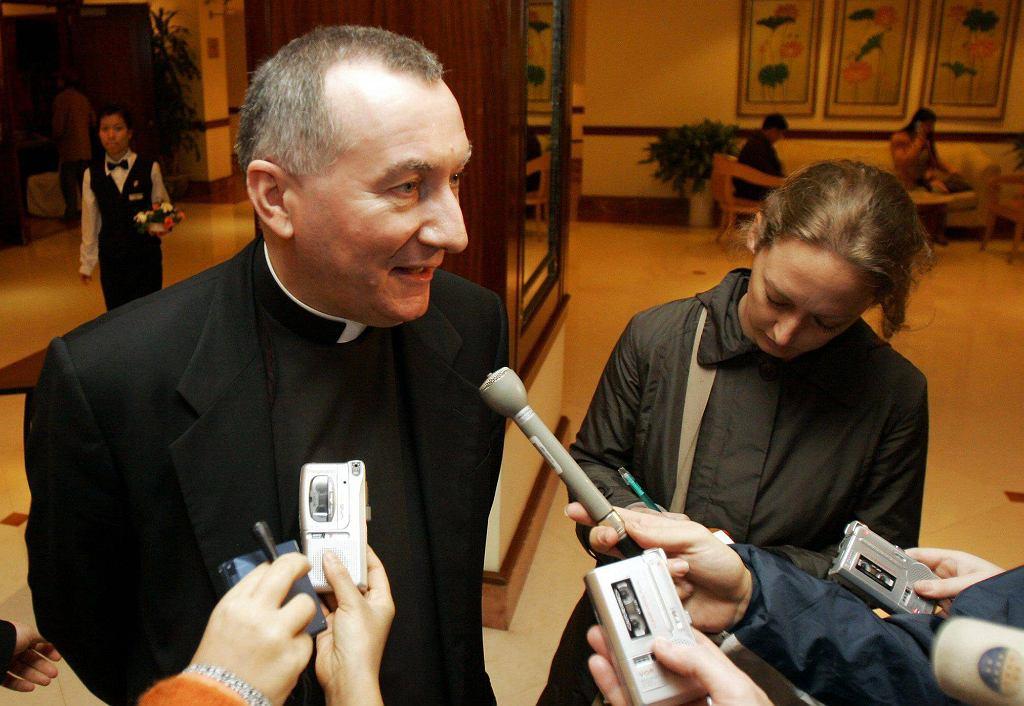 Nowy sekretarz stanu Stolicy Apostolskiej, włoski arcybiskup Pietro Parolin
