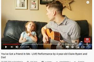 """3-letnia córeczka śpiewa tacie """"Ty druha we mnie masz"""". Wideo wyciśnie wam łzy z oczu"""