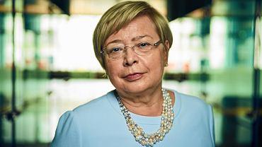 Pierwsza prezes Sądu Najwyższego prof. Małgorzata Gersdorf.