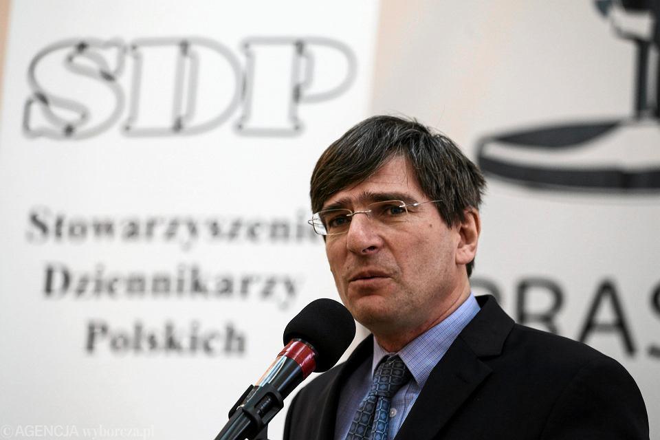 Prezes SDP Krzysztof Skowroński.