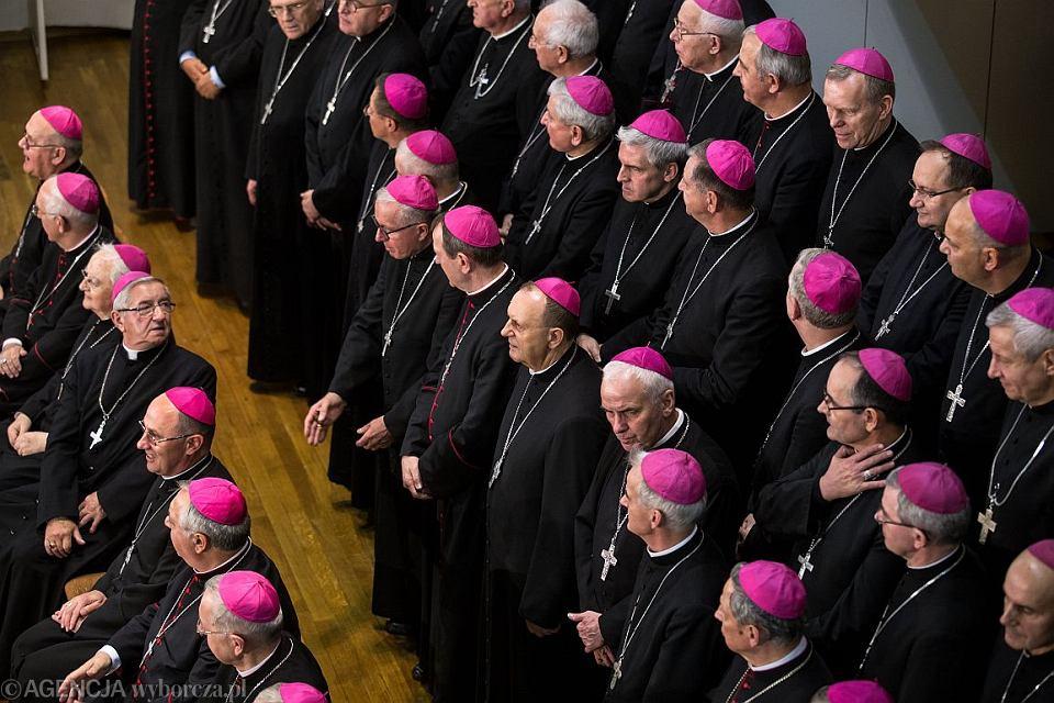 Konferencja Episkopatu Polski (fot. Jakub Orzechowski / Agencja Gazeta)