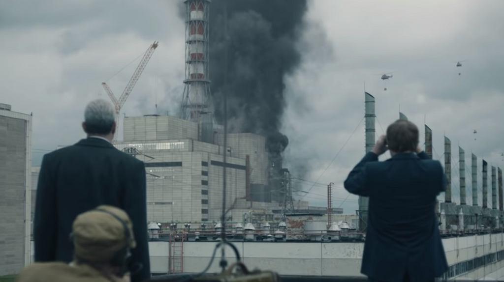 Kadr z zapowiedzi serialu 'Czarnobyl'