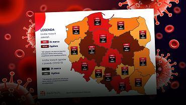 Najtrudniejsza sytuacja epidemiologiczna jest w Wielkopolska, na Śląsku i na Mazowszu