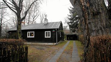 Jeden z domków fińskich na Jazdowie