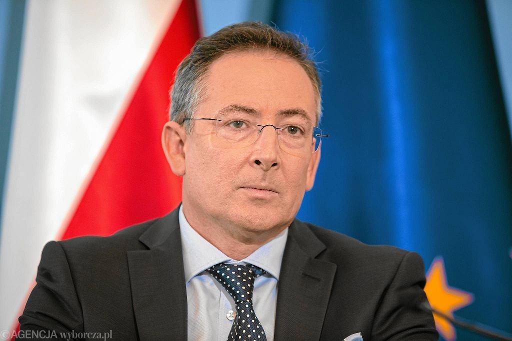 Bartłomiej Sienkiewicz od lutego 2013 roku jest ministrem spraw wewnętrznych w rządzie Donalda Tuska