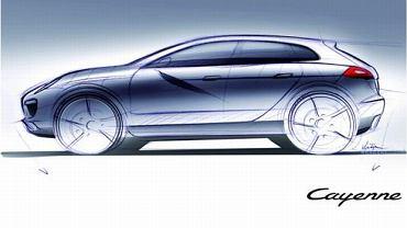 Szkic Porsche Cayenne