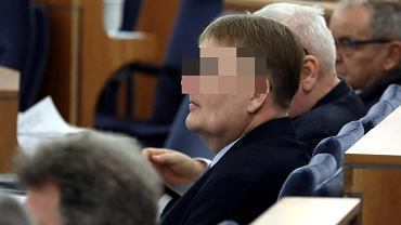 14.03.2018. Senator Waldemar B. na posiedzeniu Senatu.