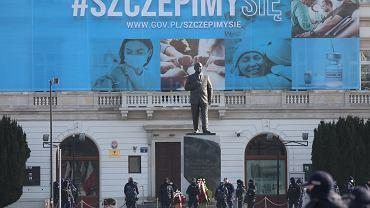 131. miesięcznica smoleńska. Warszawa, 10 marca 2021