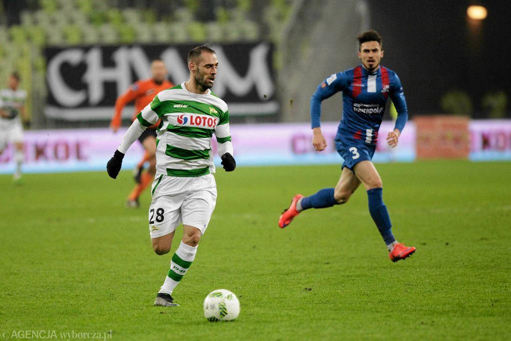 Lechia Gdańsk - Podbeskidzie Bielsko-Biała 5:0. Flavio Paixao