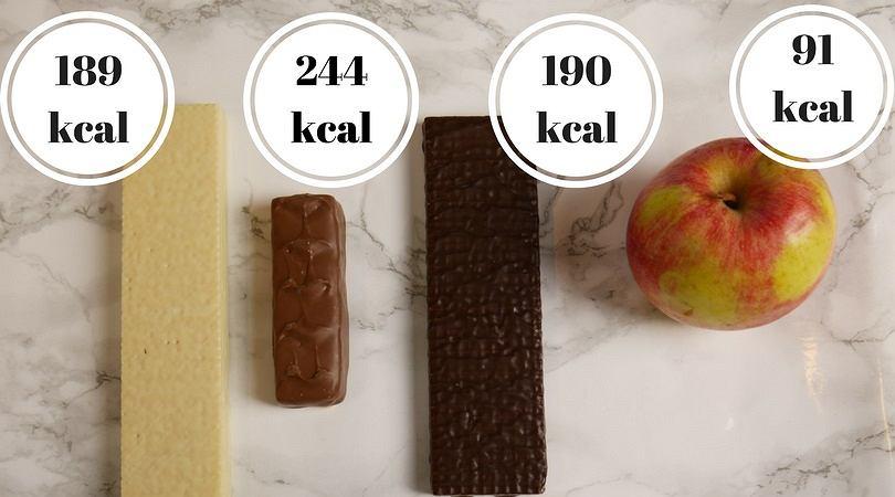 Słodycze są pełne pustych kalorii.