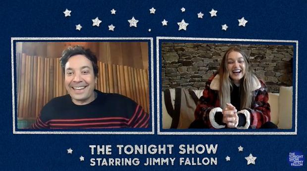 Gigi Hadid w programie 'The Tonight Show'