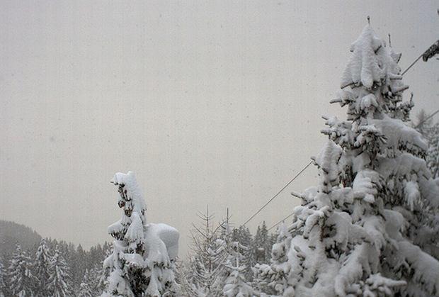 Zima w okolicach Hochlienz