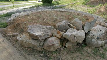 Średniowieczna szubienica w Lubaniu na Dolnym Śląsku - zdjęcie ilustracyjne