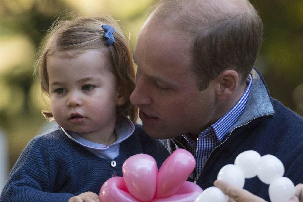 Księżniczka Charlotte, książę William
