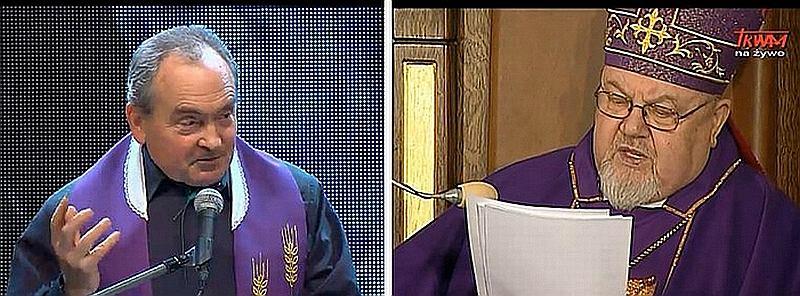 Ksiądz Stanisław Małkowski i biskup Antoni Dydycz