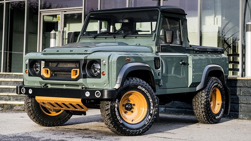 Kahn Design Land Rover Defender Pickup