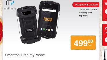 MyPhone Titan by Niteo Tools  w Biedronce