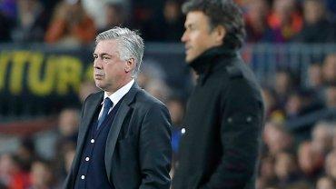 Trenerzy Carlo Ancelotti i Luis Enrique