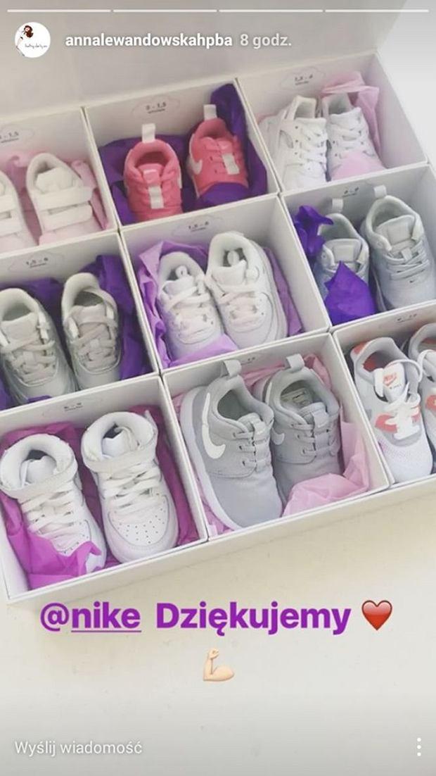 Buty Nike dla Klary Lewandowskiej