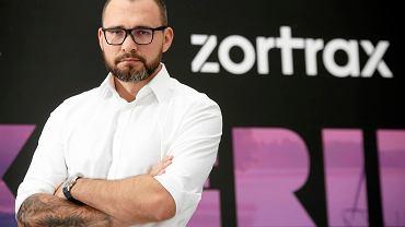 Rafał Tomasiak, prezes firmy Zortrax