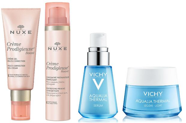 Nowe linie Nuxe i Vichy