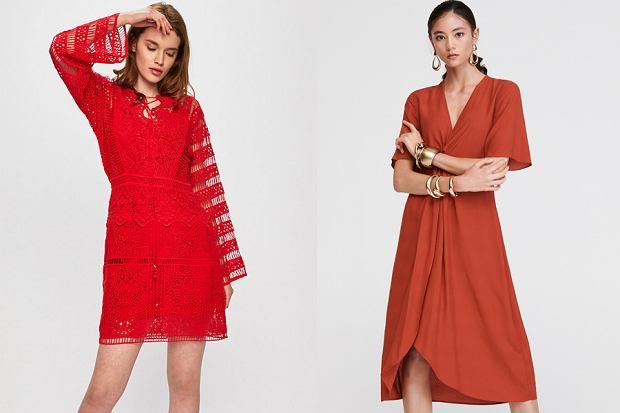Czerwone sukienki, fot. mat. partnera