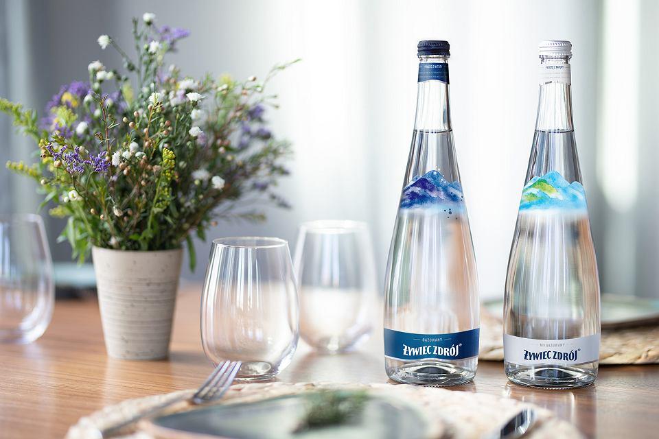 Żywiec Zdrój wprowadza szklane butelki