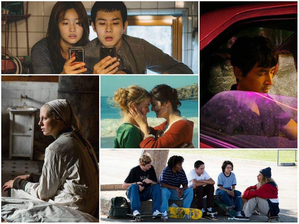 Od lewej: 'Parasite', 'Jezioro dzikich gęsi', 'Wysoka dziewczyna', 'Portret kobiety w ogniu', 'Najlepsze lata'