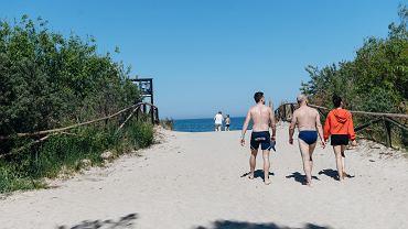 Stegna. 22-latek utonął w Zatoce Gdańskiej. Służby apelują o ostrożność