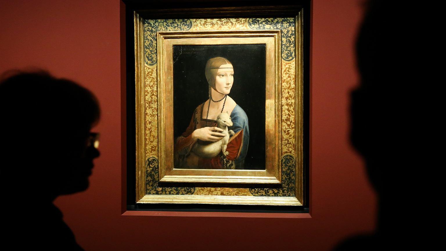 'Dama z gronostajem' w Muzeum Narodowym w Krakowie