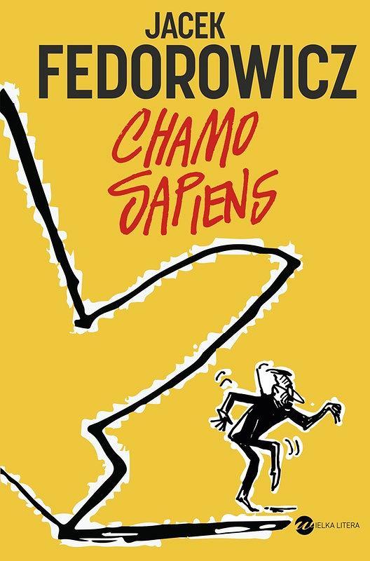 Okładka książki 'Chamo sapiens', Jacek Fedorowicz