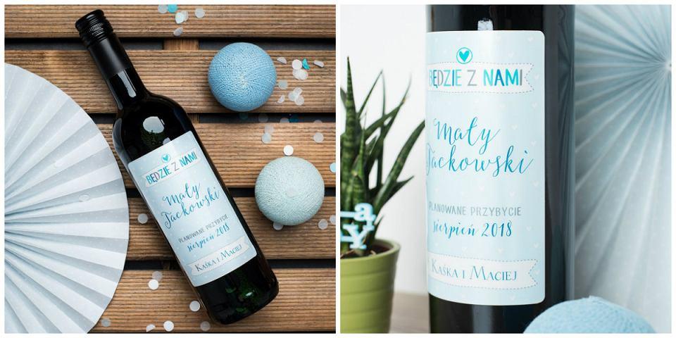 Wino personalizowane