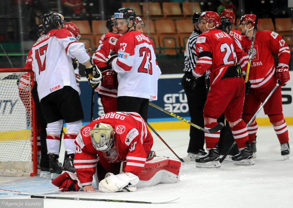 Polska - Austira Hokej