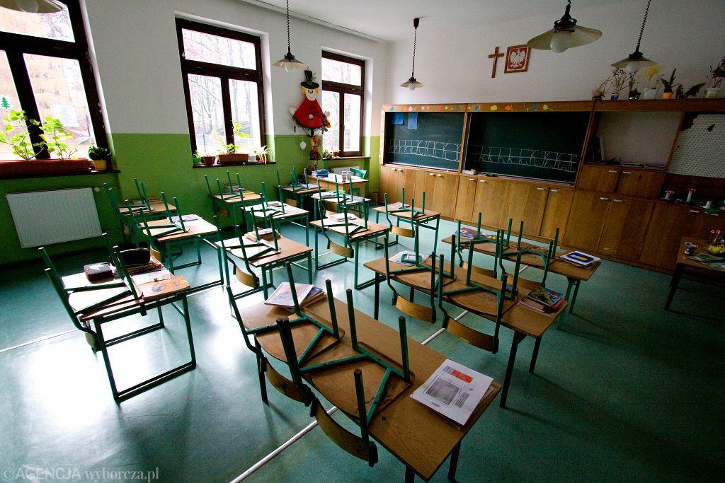 Koronawirus w szkole (zdjęcie ilustracyjne)