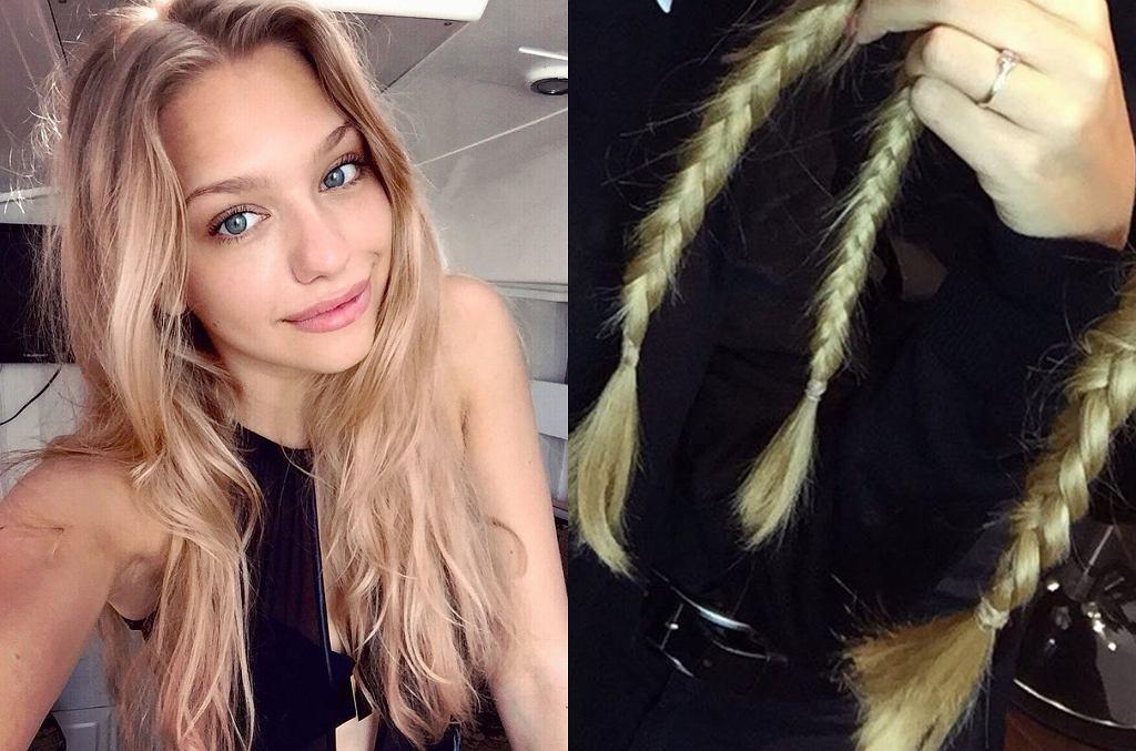 Nicole Bogdanowicz ścięła włosy