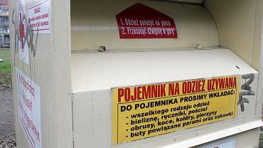 Pojemnik na odzież (zdjęcie ilustracyjne)
