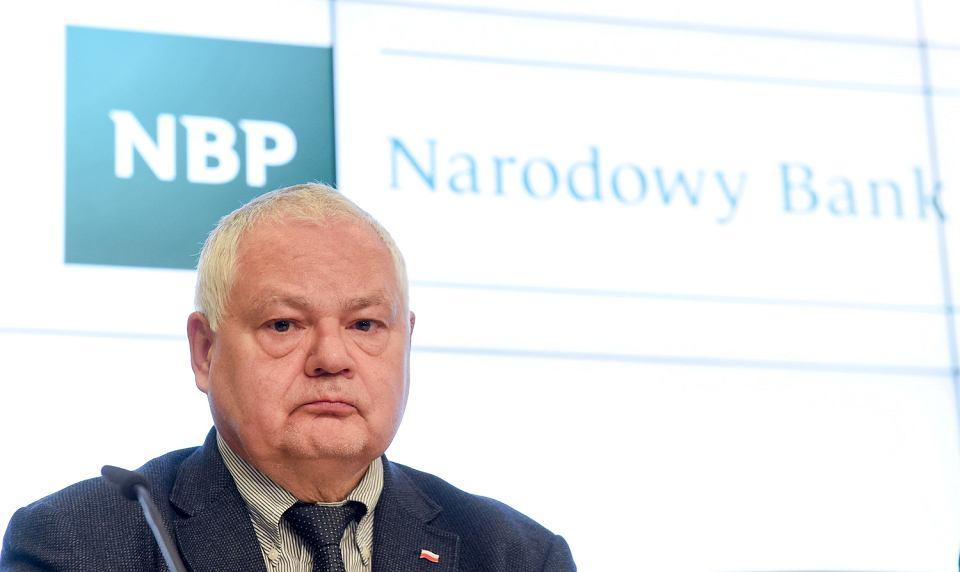 Prezes Narodowego Banku Polskiego Adam Glapiński