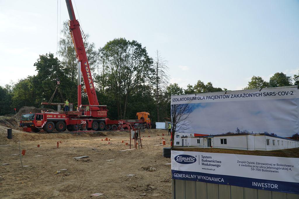 Budowa szpitala w Bolesławcu