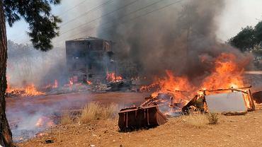 Turcja walczy z ogromnymi pożarami