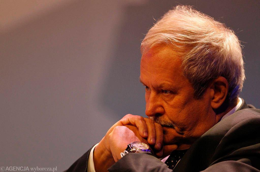 Janusz Steinhoff, były wicepremier i minister gospodarki w rządzie Jerzego Buzka
