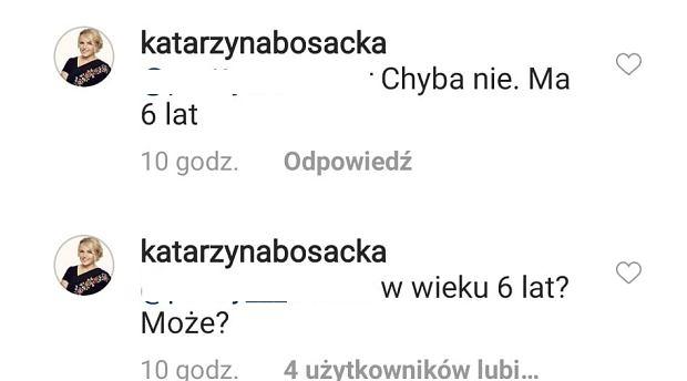 Komentarz Katarzyny Bosackiej